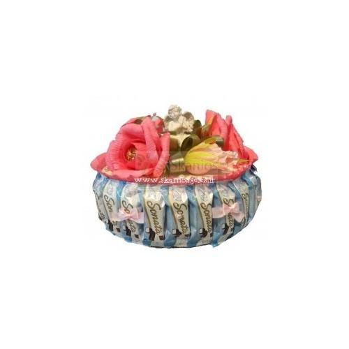 Mirabela - tortas iš saldainių