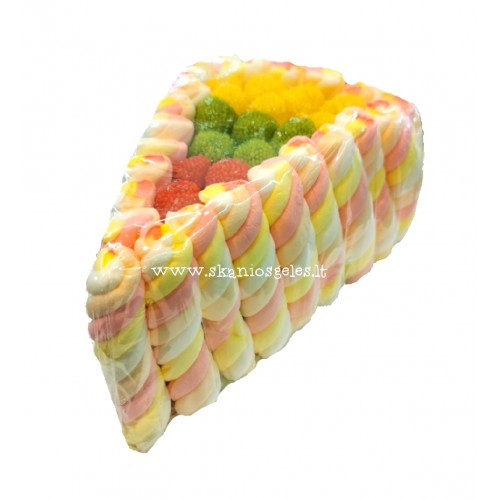 Saldi dovana guminukų tortas 400 g