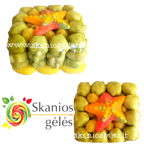 Gumi - 3 guminukų tortas 400 g