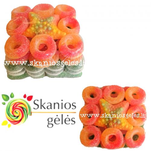 Gumi - 4 guminukų tortas 400 g
