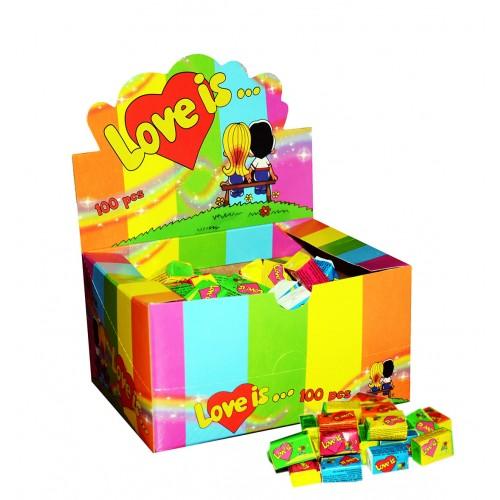 Kramtoma guma Love Is 1 dėžutė (100 vnt.)