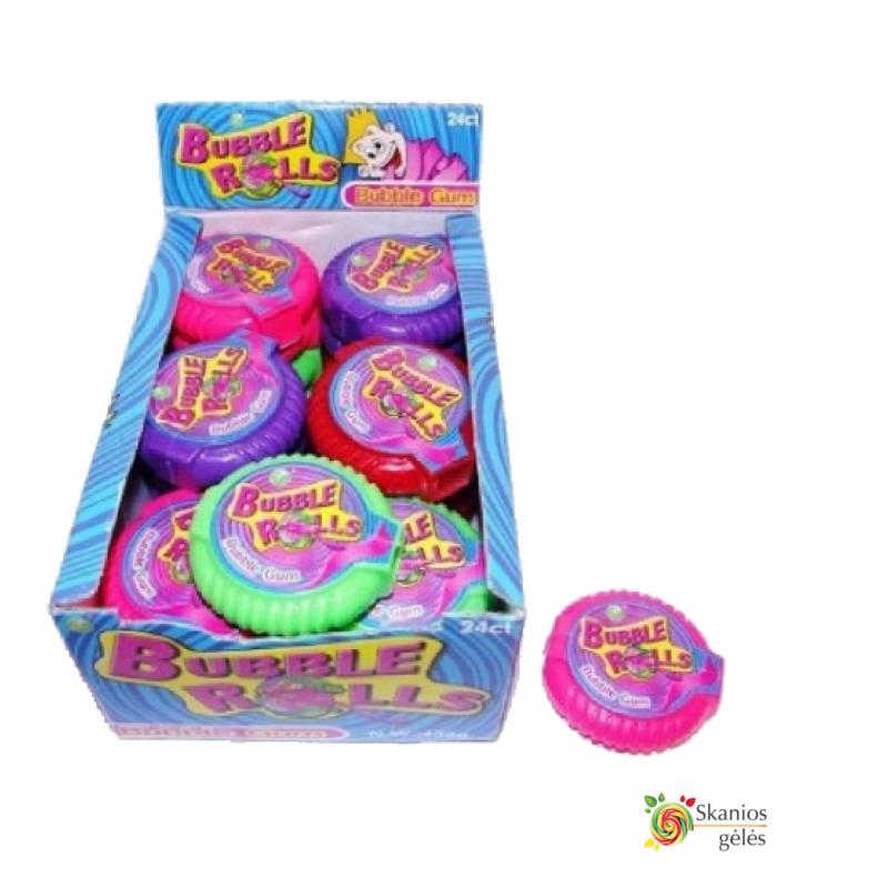 Vaisių skonio guma Bubble Gum