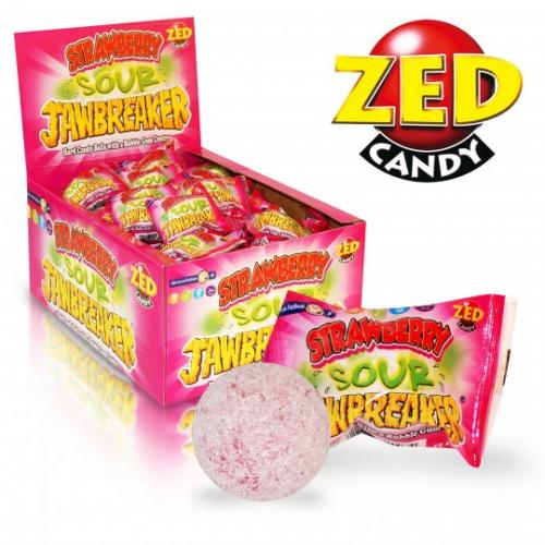 Kieto saldainio kamuoliukai su kramtoma guma JAWBREAKER