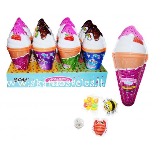 Saldainių rinkinys WONDERFUL CONE 1 vnt