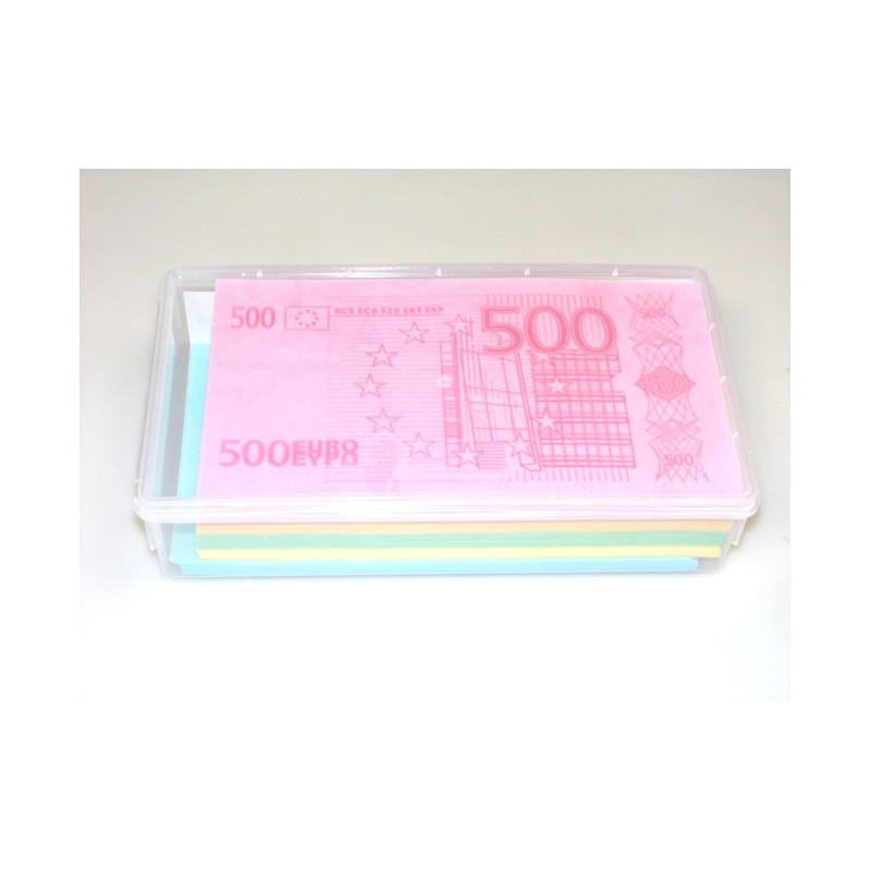 Valgomas popierius Eurai, 150 vnt