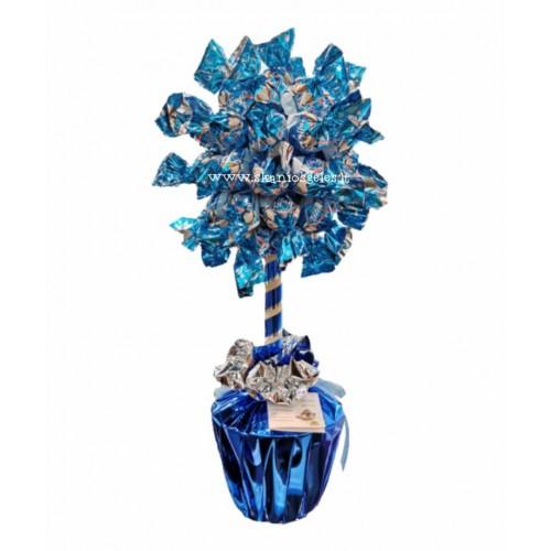 Mėlynas - saldainių medis