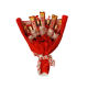 Grand Luxury - 6 puokštė iš saldainių