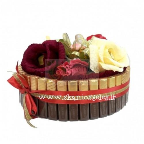 Princas - tortas iš saldainių