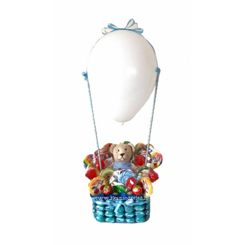 Oro balionas 2 - saldainių kompozicija